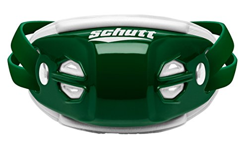 Schutt Sports Elite Hard Cup Chinstrap, Dark Green, - Medium Hard Dark Green