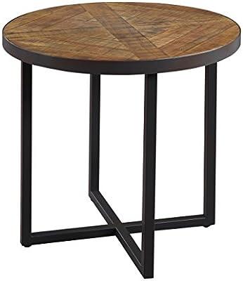 Amazon.com: Esmeralda Home Denton mesa redonda final ...