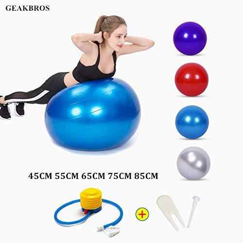 HXLF Deportes Pelotas de Yoga Bola Pilates Pelota de Ejercicios ...