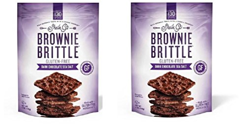Salt Sea Brownies (Sheila G's Salted Dark Chocolate Gluten Free Brownie Brittle (2-pack))