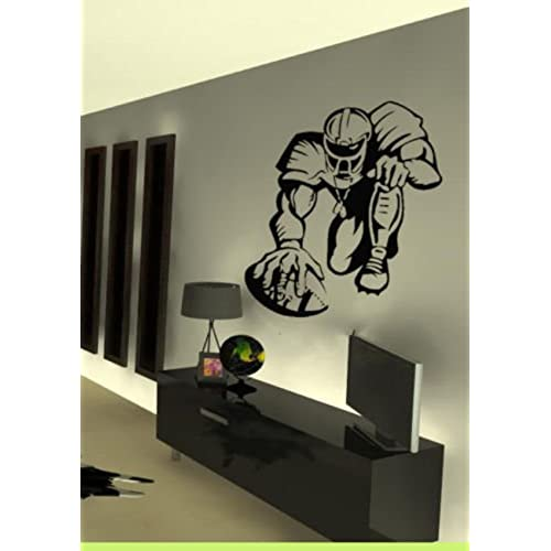 Lovely Vinyl Wall Art Decal Sticker Football Hike NFL Football Player Kid Room  Sticker Wall Vinyl Decal