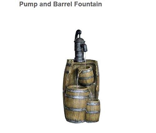 Hampton Bay Pump and Barrel Fountain