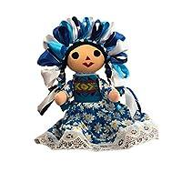 Muñeca María - Muñeca de trapo - Artesanias mexicanas