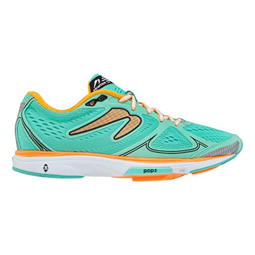 Newton Running Mujeres Fate Mint / Orange