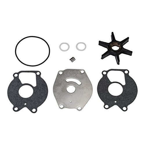 - Quicksilver 85089Q4 Water Pump Repair Kit - 15 through 25 Horsepower 2-Cycle Mercury and Mariner Outboards