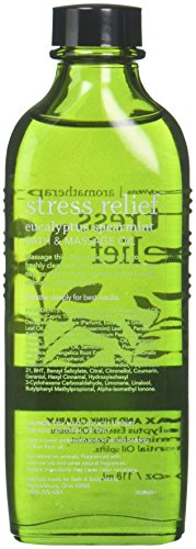 Bath & Body Works Aromatherapy Stress Relief Eucalyptus Spearmint Massage Oil 4 Fl Oz (Retired Model) Discontinued