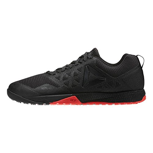 Nano CrossFit Riot Womens Stealth Reebok 6 0 Black Athletic Shoes Black Red wOC4qc5Ec