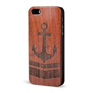 Froolu ? Wooden iPhone 4 and 4s Cover - Nautical Anchor Arrow