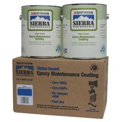 Rust-Oleum S60 System 0 Voc Water-Based Epoxy Maintenance Coating Osha Safety Yellow Kit