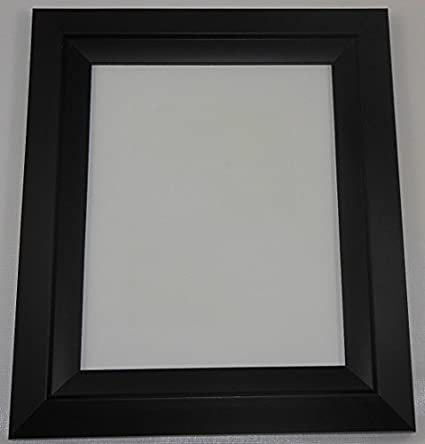 Amazoncom Gallery 8x10 Photo Picture Frame Black With Matte Finish