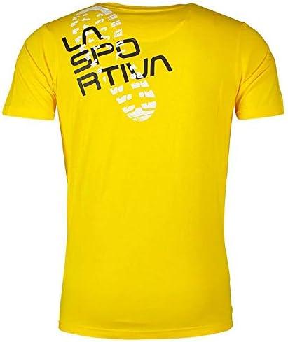 XL La Sportiva Footstep Tee Yellow Talla