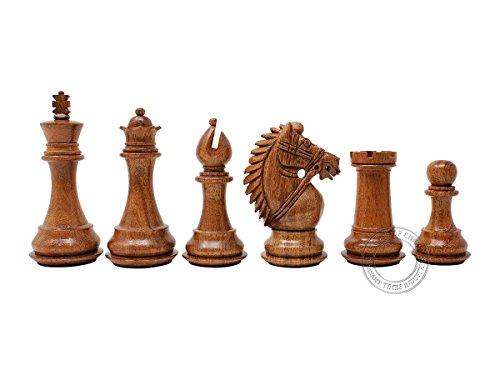 House of Chess - Rio Staunton Wooden Chess Piece - King Heig