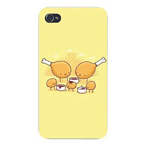 Price comparison product image Chicken Farm Phone Case [Customizable by Buyers] [Create Your Own Phone Case] Slim Fitted Hard Protector Cover for iPhone 5 5S