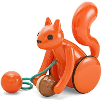 Amazon Com Kid O Squirrel Pull Toy Toys Amp Games