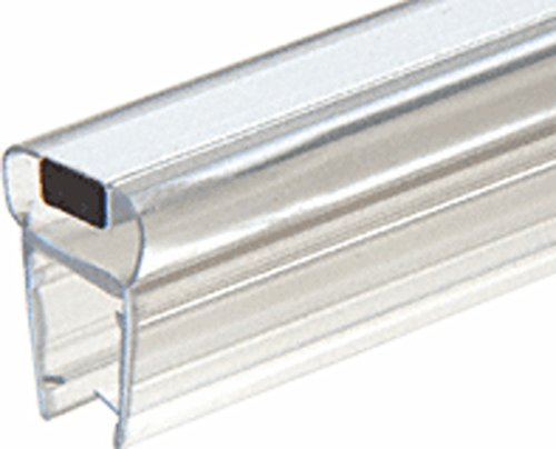 "CRL 90º Magnetic Profile for Glass-To-Glass fits 3/8"" to 1/2"" Glass - 78 in long"