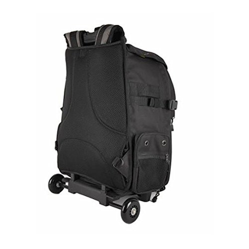 Ape Case, ACPRO4000, Backpack with wheels, Laptop compartment, Padded, Rain cover included, Adjustable straps, Camera backpack, Black (ACPRO4000) by Ape Case (Image #2)