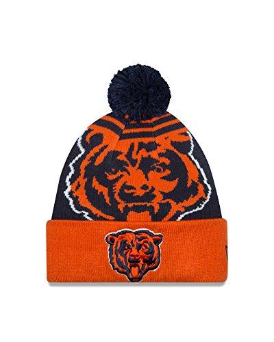16b4bf1e2ef Chicago Bears Logo Whiz Pom Beanie – Football Theme Hats