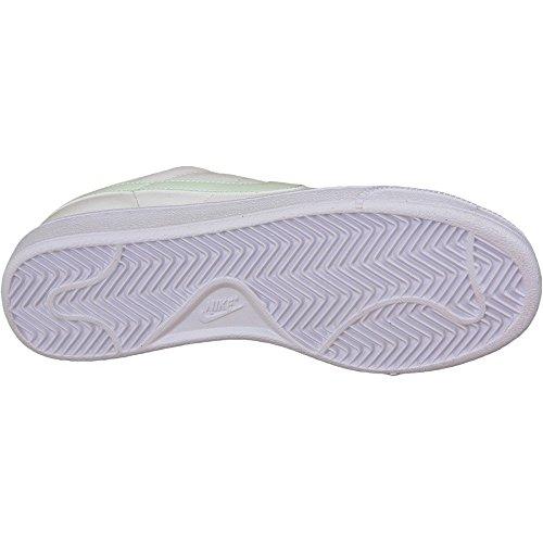 Tennis Classic 38 Chaussures Fitness Nike de Femme EU Blanc Blanc Verre WMNS Fibre Noir de 5x1qBZ