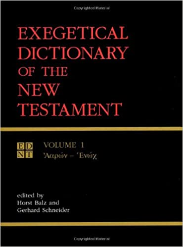 Exegetical Dictionary of the New Testament (3 Volume Set)
