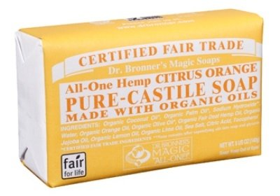 dr bronner s pure castile bar soap citrus 2 pack mk library. Black Bedroom Furniture Sets. Home Design Ideas