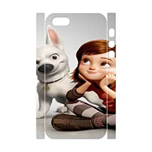bolt movie iphone 5 5s Cell Phone Case 3D White PSOC6002625617254
