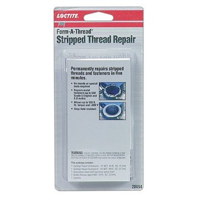 (Form-A-Thread® Stripped Thread Repair Kit - 4.8-ml. syringe form-a-thread stripped th)