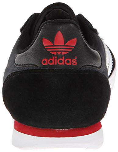 Adidas Skateboarding Menn Silas Slr Svart / Core Hvit / Power Rød Sneaker 12 Dm
