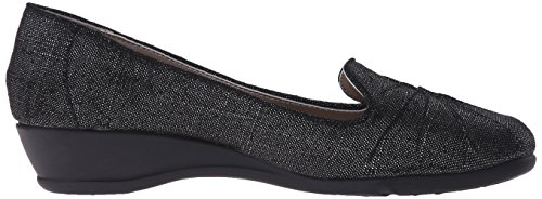 Soft Stile di Hush Black Puppies Sparkle Linen Rory piatti Sqzqdw