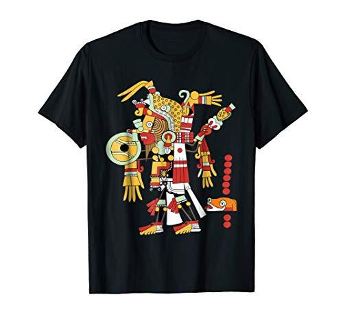 Playera de Mexico - Mayas - Aztecas - Dia de los Muertos