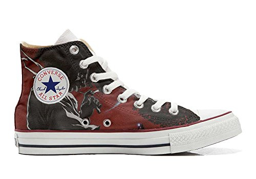 Converse All Star personalisierte Schuhe - HANDMADE SHOES - Demon