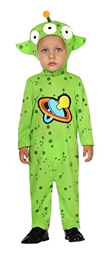 Atosa 26353–Alien Spaceman Space Baby Costume -