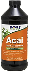 NOW Acai Liquid Concentrate, 16-Ounce