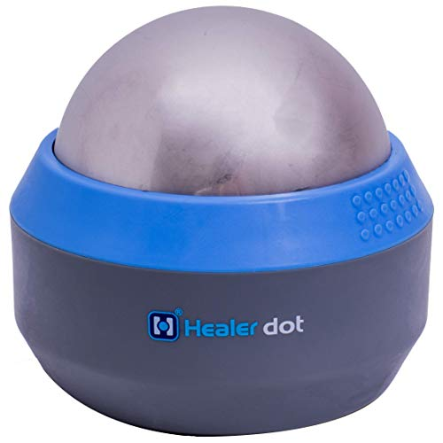 Healer dot Ice Muscle Fitness Roller - Deep Tissue Cold Massage Ball - Cold Gel Core - Reduces Inflammation & Swelling - Convenient & User-Friendly - Rapid Workout Recovery - Portable Design