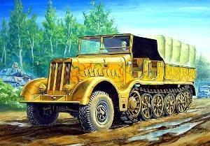 Trumpeter 1/72 German Famo SdKfz 9 18-Ton Halftrack (Military Vehicles 1 18)