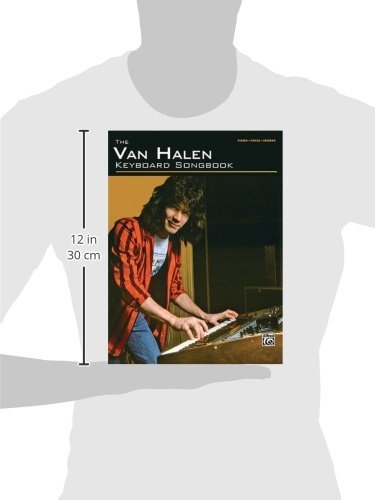 The Van Halen Keyboard Songbook For Piano Vocal And Chords Van
