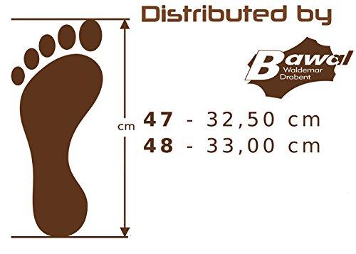 48 Big amp; Zapatillas Cuero de Fieltro Fieltro Mz04 Hombres 49 Tamaños 47 para 50 Grandes Size Pantuflas 7rqwI5Cx7n