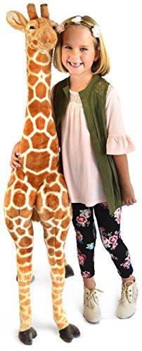 Jumbo Stuffed Giraffe