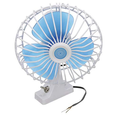 - Seachoice 71451 12V DC Oscillating Fan - 6 Inch - 90 Degree Oscillating Motion, White, 6-inch