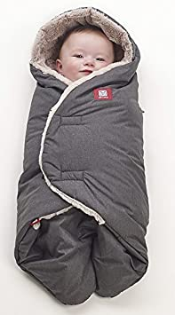 color gris Cobertura polar de bebe con capucha Red Castle 0836156