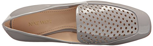 Nine West Women's Xavio Patent Penny Loafer Grey 41dQe