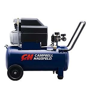 Campbell hausfeld air compressor 8 gallon horizontal oil for 1 5 hp 120v electric motor