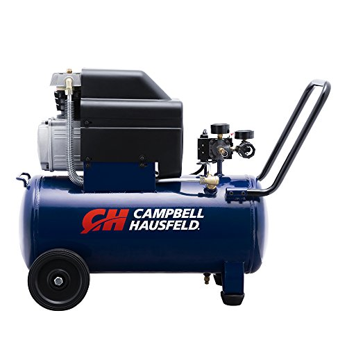 - Campbell Hausfeld Air Compressor, 8-Gallon Horizontal Oil-Lubricated 3.7CFM 1.3HP 120V 10A 1PH (HL540100AV)
