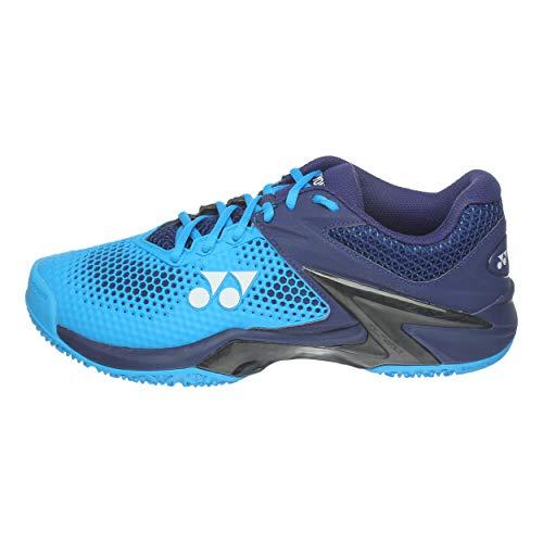 Turquoise 45 Yonex Hommes De 2 Chaussures Foncé Cushion Tennis Clay Power Bleu Eclipsion Chaussure Battue Terre 74aZq7wnUR