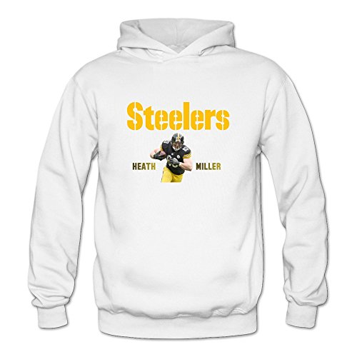 [YOGUYA Women's Heath Miller Hoodie Shirt White M] (Customes Halloween Maternity)
