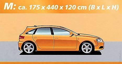 Gr. M - ca. B 175 x L 440 x H 120 cm ULTIMATE SPEED/® Autovollgarage