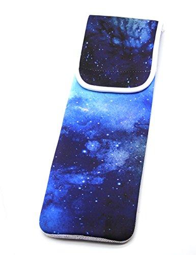 Neoprene Flat Iron Case Hair Straightener Bag Curling Iron Travel Case Bag Pouch (BLUE) (Neoprene Resistant Cover)