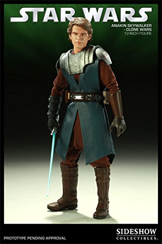 Sideshow Collectibles Star Wars Deluxe 12 Inch Action Figure Clone Wars Anakin Skywalker