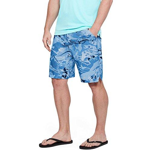 Under Armour Outerwear Men's UA Sonar Short, Ua Hydro Camo (924)/Stealth Gray, 34