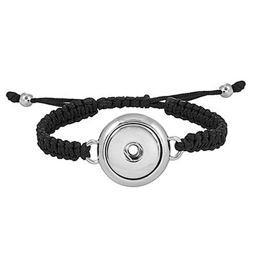 Ginger Snaps 1-SNAP WOVEN Fashion Bracelet Interchangeable Jewelry Accessory