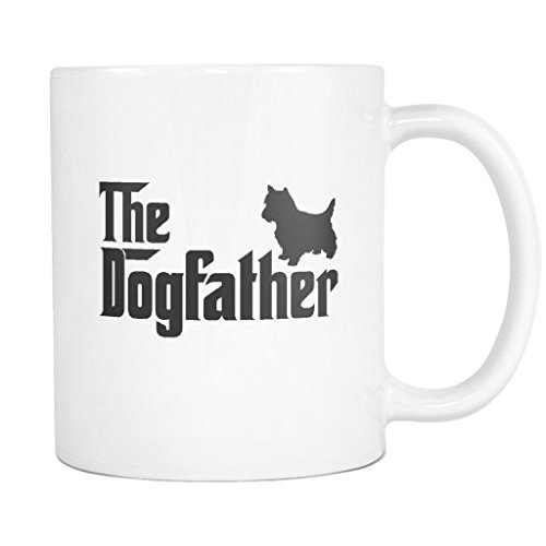 Yorkshire Terrier DogFather Coffee Mug Funny Gift Tea for sale  Delivered anywhere in USA